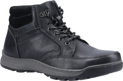 Hush Puppies Grover Mens Boots Black